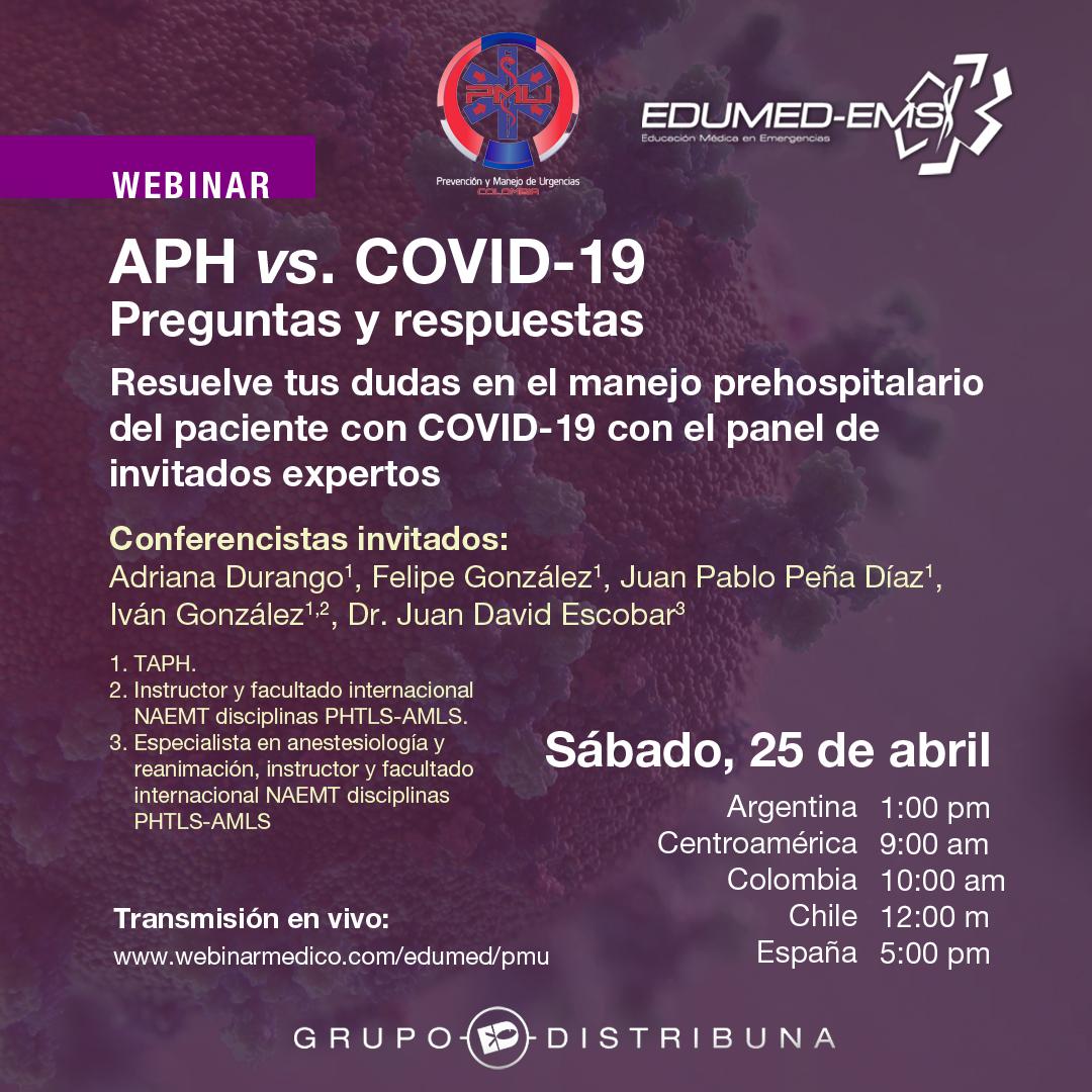 APH vs COVID-19 Preguntas y respuestas