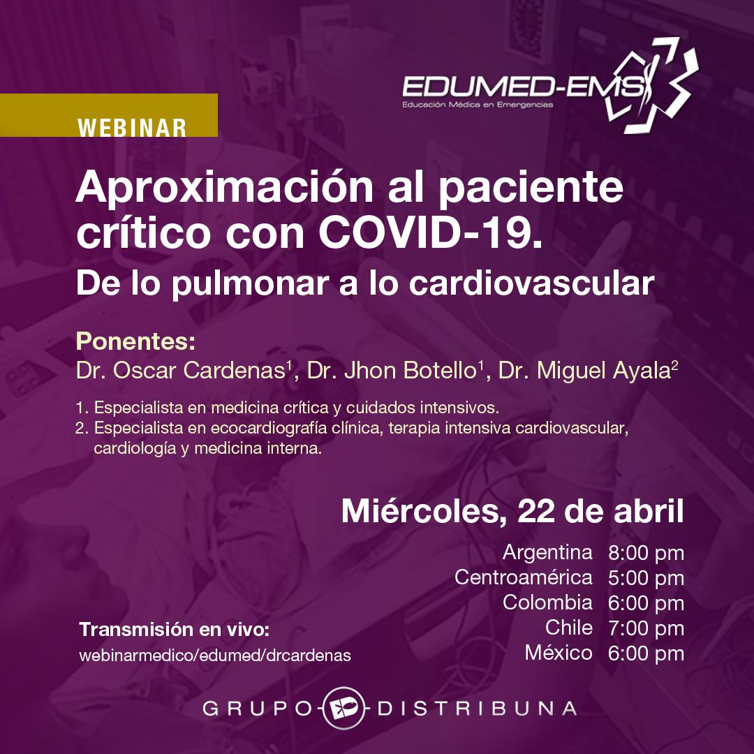 Aproximación al paciente crítico con COVID-19