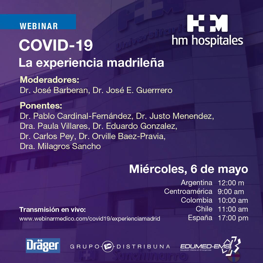 COVID-19 La experiencia madrileña